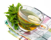 Herbal mint tea Royalty Free Stock Photos
