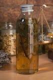 Herbal mixture- motherwort Stock Photo