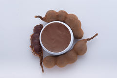 Herbal moisturizer extracted from tamarind Royalty Free Stock Images
