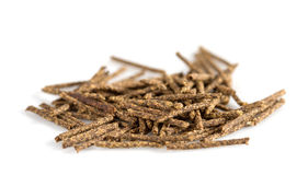 Herbal moxa acupuncture. stock photos