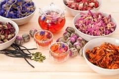 Herbal natural floral tea Royalty Free Stock Image