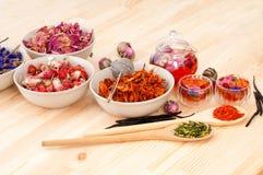 Herbal natural floral tea Stock Image