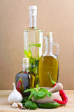Herbal oil royalty free stock photography