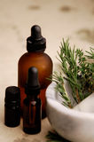 Herbal Oils Royalty Free Stock Images