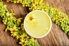 Herbal oinment Stock Photo