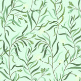 Herbal pattern Stock Photography
