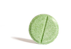 Herbal pill Royalty Free Stock Images