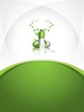 Herbal pill Stock Photo