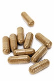 Herbal Pills Stock Photos