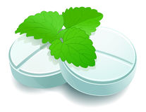 Herbal pills Royalty Free Stock Photography