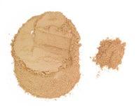 Herbal powder Stock Images