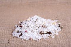 Herbal salt Royalty Free Stock Photos