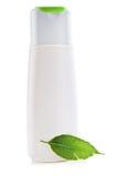 Herbal shampoo bottle Stock Photography