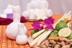 Herbal spa εξοπλισμός για aromatherapy Στοκ Φωτογραφία