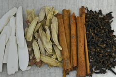 Herbal for spa Royalty Free Stock Photography