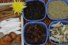Herbal for spa Stock Images