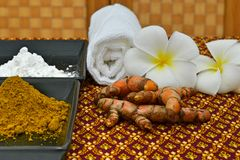 Herbal for spa Stock Photography