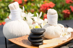 Herbal spa retreat Royalty Free Stock Photos
