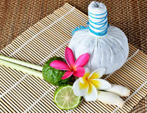 Herbal Spa from Thailand. Herbal Spa massage  from Thailand Royalty Free Stock Photo