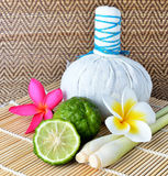 Herbal Spa from Thailand Stock Image