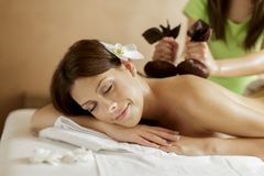 Herbal spa Royalty Free Stock Images