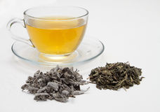 Herbal tea. On white background stock images