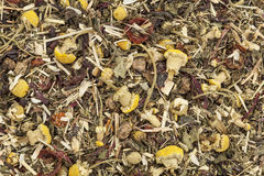 Herbal tea background Royalty Free Stock Image