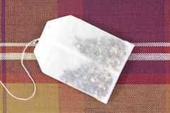 Herbal Tea Bag Stock Image