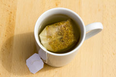 Herbal Tea Bag Royalty Free Stock Photography
