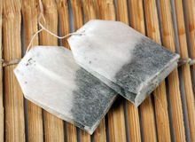 Herbal tea bags Stock Photography