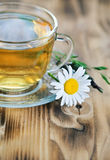 Herbal tea with camomile Royalty Free Stock Image
