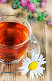 Herbal tea with chamomile Royalty Free Stock Photo