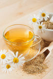 Herbal tea with chamomile Stock Photos