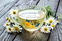 Herbal tea with chamomile Stock Image