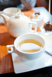 Herbal tea in cup Stock Image