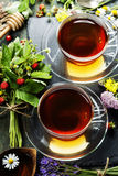 Herbal tea Royalty Free Stock Photos