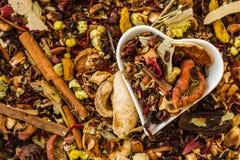 Herbal Tea Ingredients Royalty Free Stock Photography