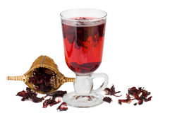 Herbal tea isolated Royalty Free Stock Photos