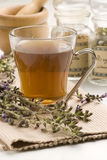 Herbal tea. Lavender.