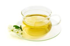 Herbal tea with lemon Royalty Free Stock Images