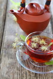 Herbal tea with lime Stock Images
