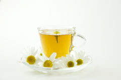 Herbal tea made of chamomile Stock Images