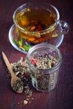 Herbal tea stock photo