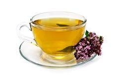 Herbal tea with oregano Stock Photo