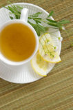 Herbal Tea-Overhead Stock Images