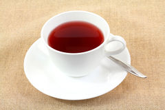 Herbal Tea Pomegranate Flavor. A refreshing and relaxing cup of pomegranate tea Stock Image