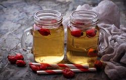 Herbal tea with rosehip. Selective focus Stock Photo