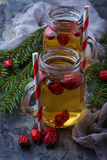 Herbal tea with rosehip. Selective focus Royalty Free Stock Photo