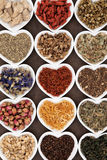 Herbal Tea Selection Stock Images