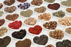 Herbal Tea Selection Royalty Free Stock Image